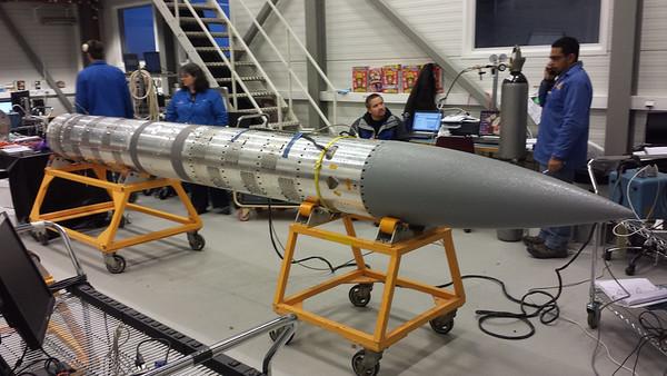 Nov 13: Assembled Payload