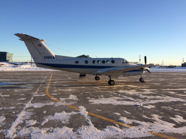 Nov 12: NASA Aircraft at Goose Bay