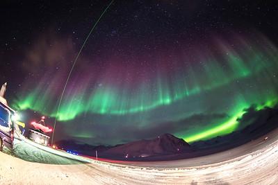 Nov 15: Aurora Over Ny Alesund
