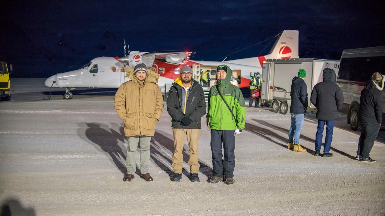 Nov 14: Observers Arriving at Ny Alesund