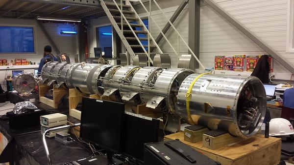 Nov 11: Payload Assembly at Andoya