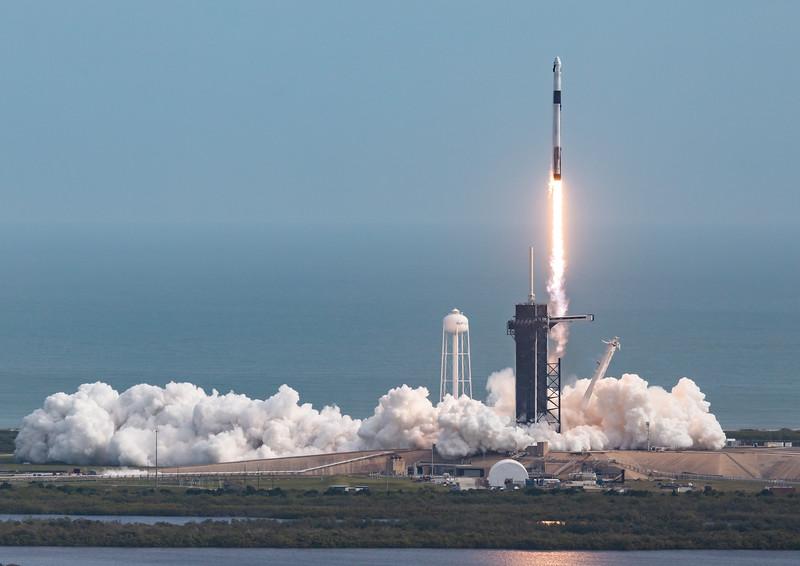 SpaceX In-Flight Abort Test