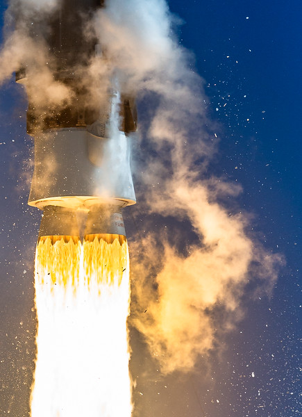 AtlasV Engine Shot - 501 Configuration