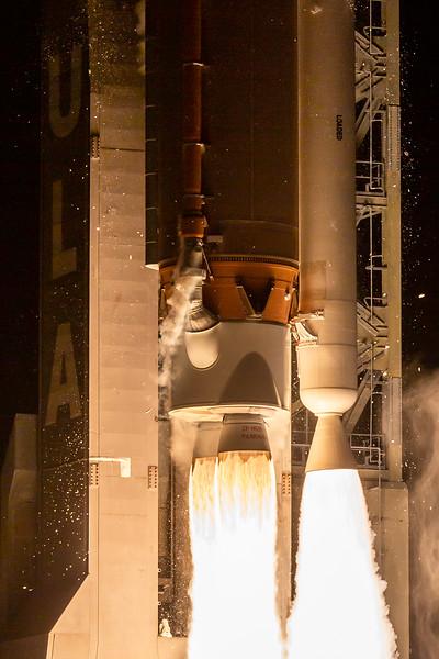 Launch of the Solar Orbiter Probe.