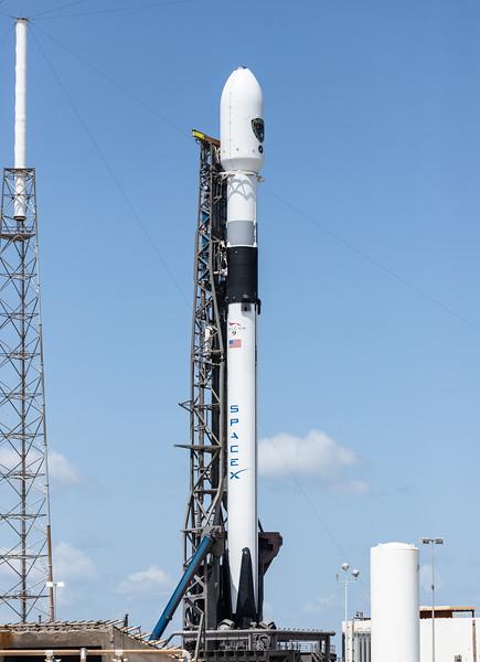 Falcon 9 at SLC 40