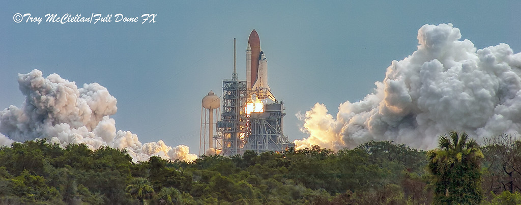 Liftoff of STS-135 Atlantis - The Last Shuttle