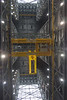 This is a shot looking straight up in the center of the VAB transfer aisle.  The roof is 525 feet over my head.