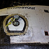 The hatch of Endeavour has been seal prior to her trip to California