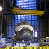 Endeavour waits in the VAB a week before her departure from KSC