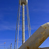 A view of the water tower that feeds the Sound Suppression Water System