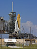 Discovery on Pad 39A September 21st, 2010.  This was prior to its rollback to the VAB to repair cracks in the External Tank.