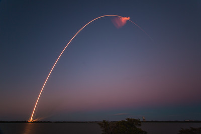 SES9 Falcon9 Launch by SpaceX