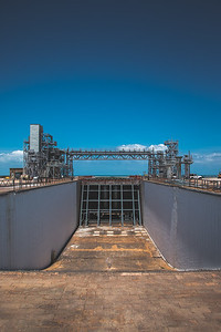 Launch Pad 39B Flame Trench