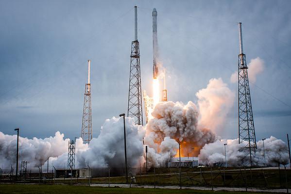 NASA CRS-3 Launch