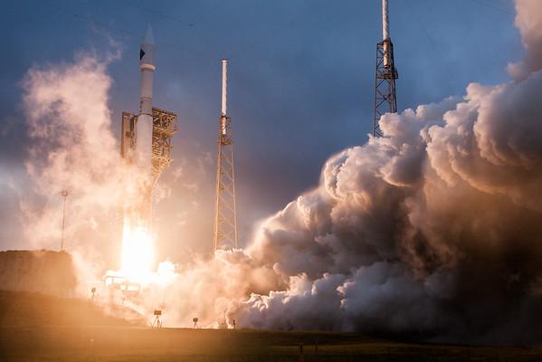 NASA Orbital OA-4 Launch