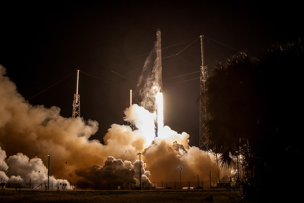 NASA SpaceX CRS-5 Launch