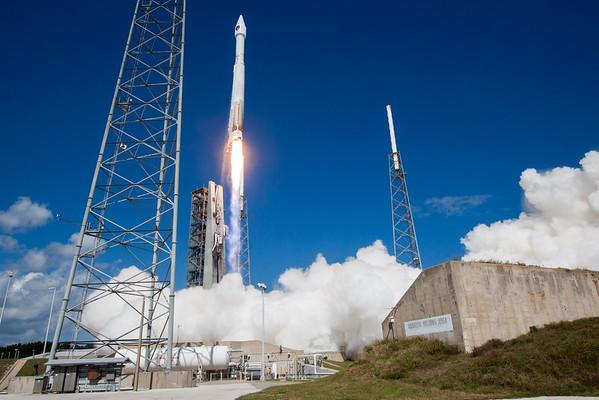 USAF GPS IIF-11 Launch