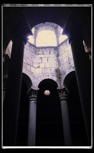 Arab baths, Girona