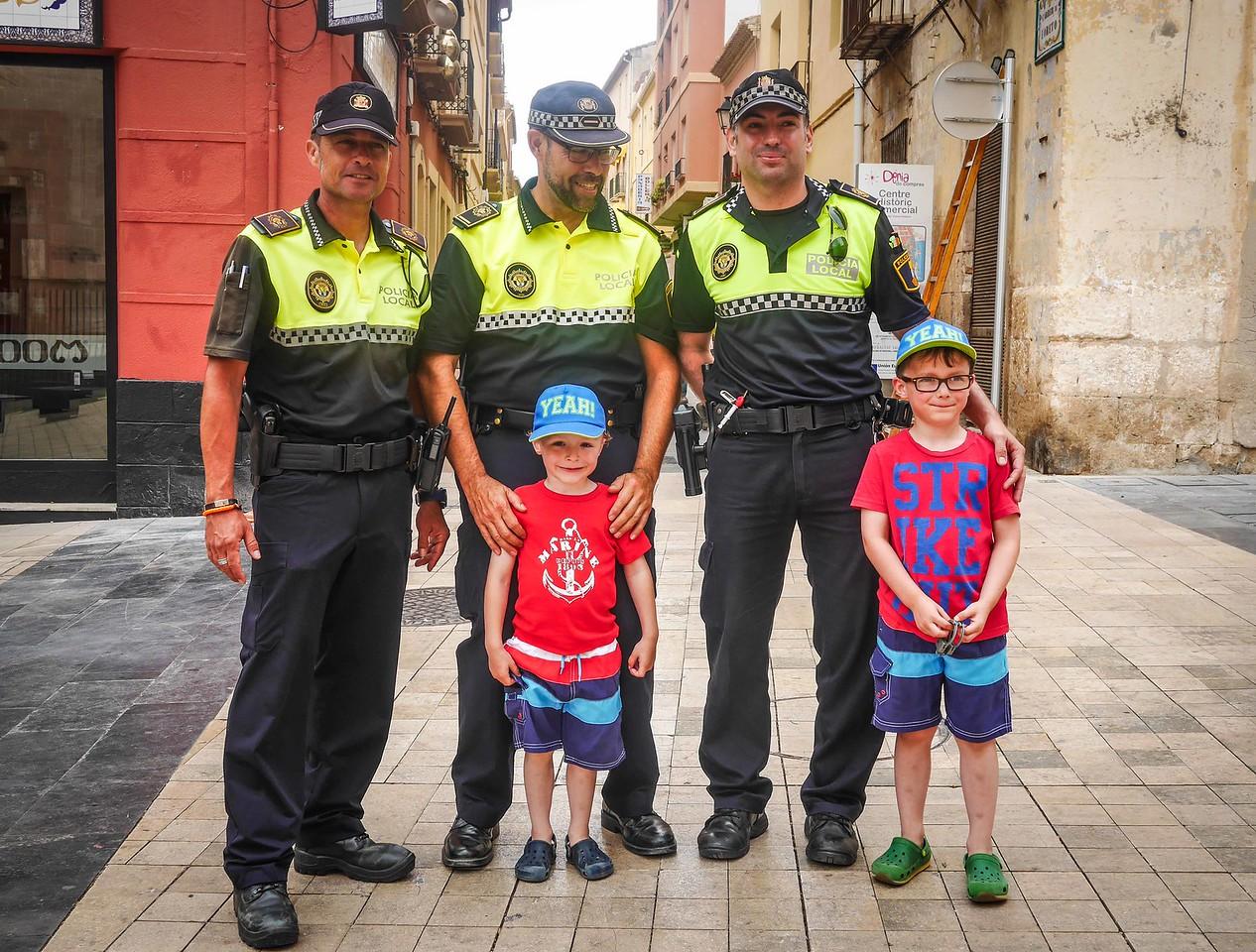Ethan, Ronan and the Policia, Denia