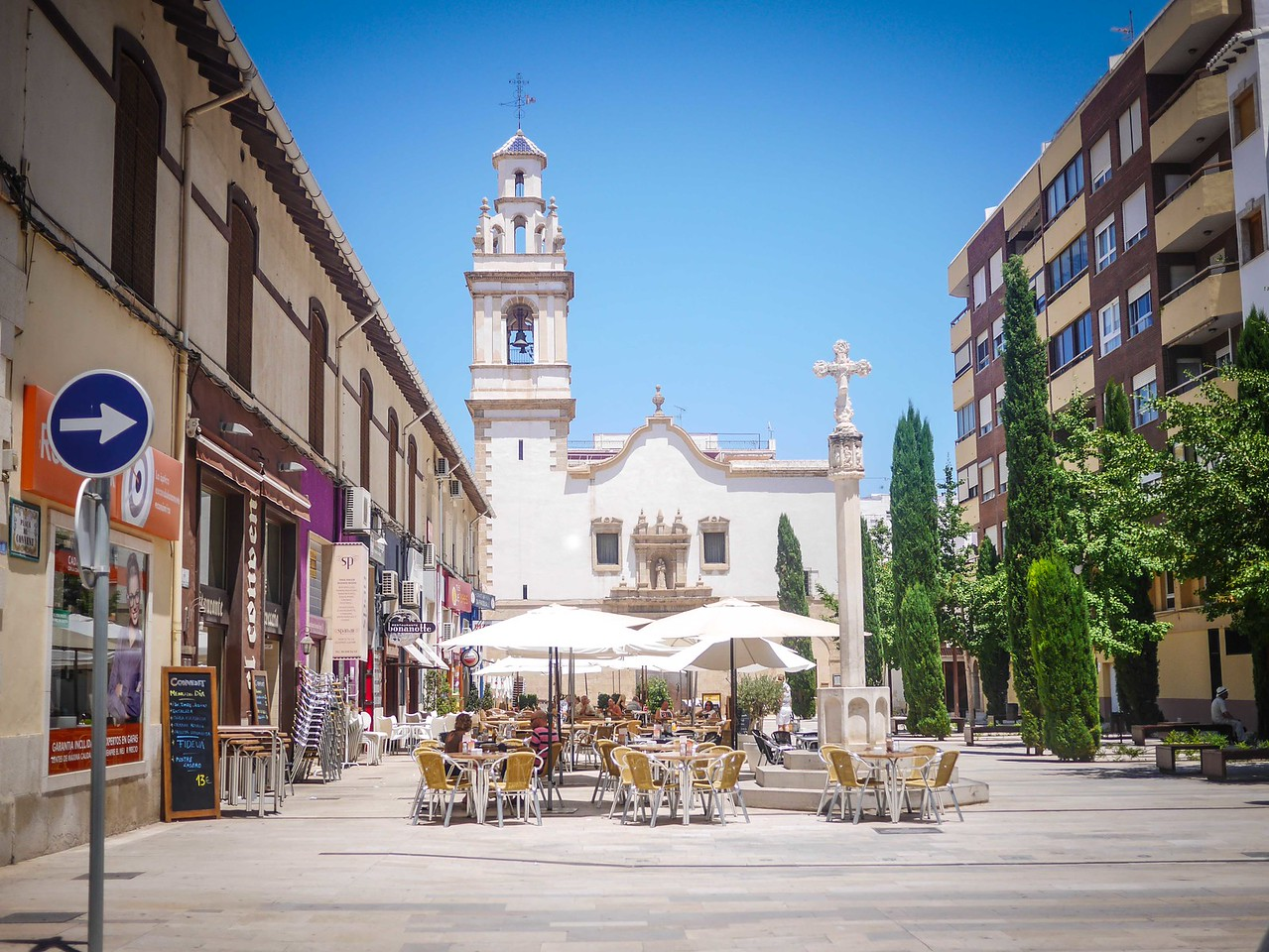 Church Square, Denia