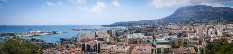 View from Castillo, Denia