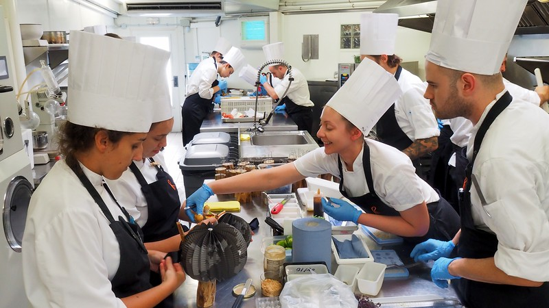 A behind the scenes look from the kitchen staff hard at work at Celler de Can Roca in Girona