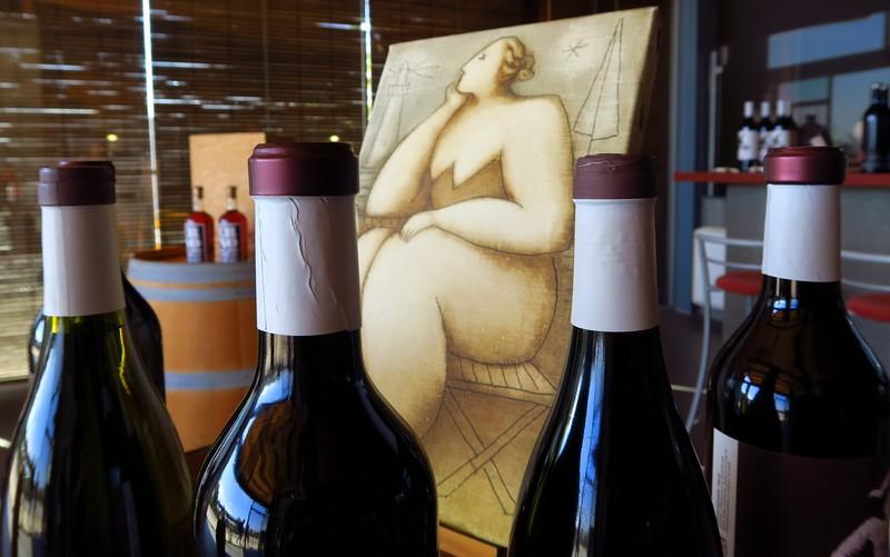 Wines at La Vinyeta.