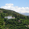 A view of the Generalife Palace, home to spectacular water gardens.