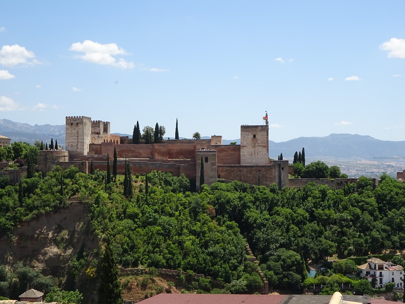 Our primary reason for traveling to Granada was to see the famous Alhambra, a Moorish, and later Christian, walled city.