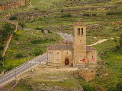 A historic church, built by the Knights of the Templar during the time of the Crusades.
