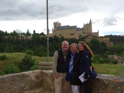 Segovia's Alcazar stands in the background.