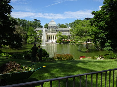 The Crystal Palace in Retiro Park.