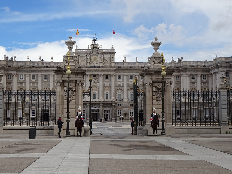 The Royal Palace, today mostly a museum, open to the public.