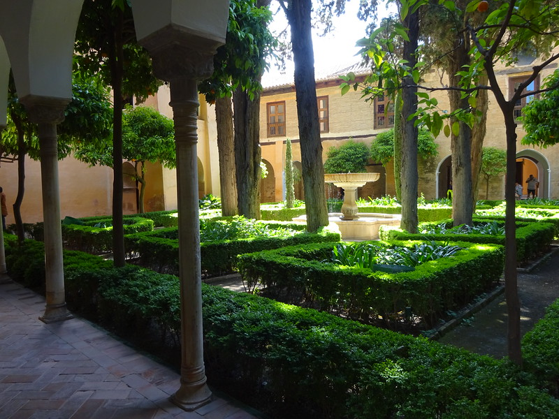After the reconquest, Christian rulers occupied the Alhambra giving some areas a more European look.