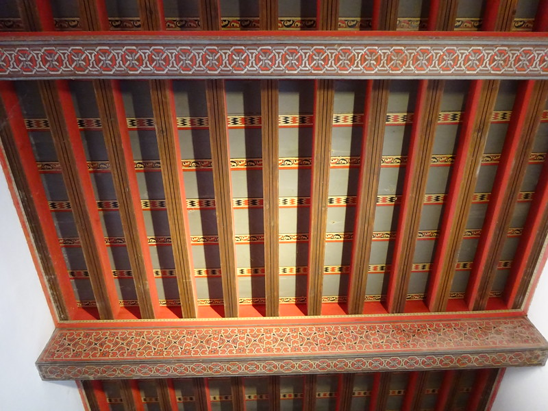 Another view of a ceiling in the Nasrid Palace.
