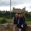 Segovia's Alcazar stands in the background.