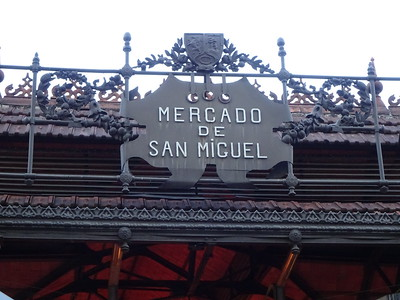 We are just a few blocks from a historic market.  A great place to have tapas and drinks.