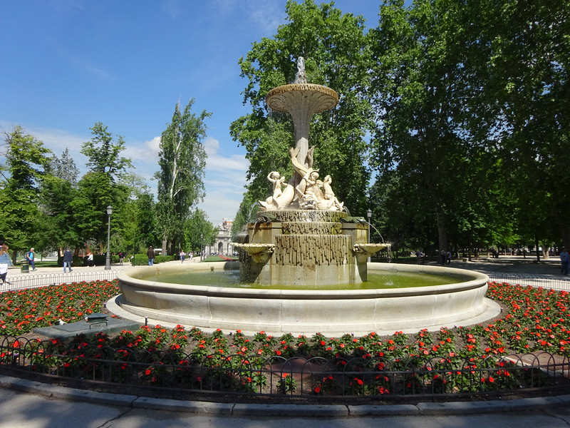 Retiro Park, one of my favorite locations in Madrid.