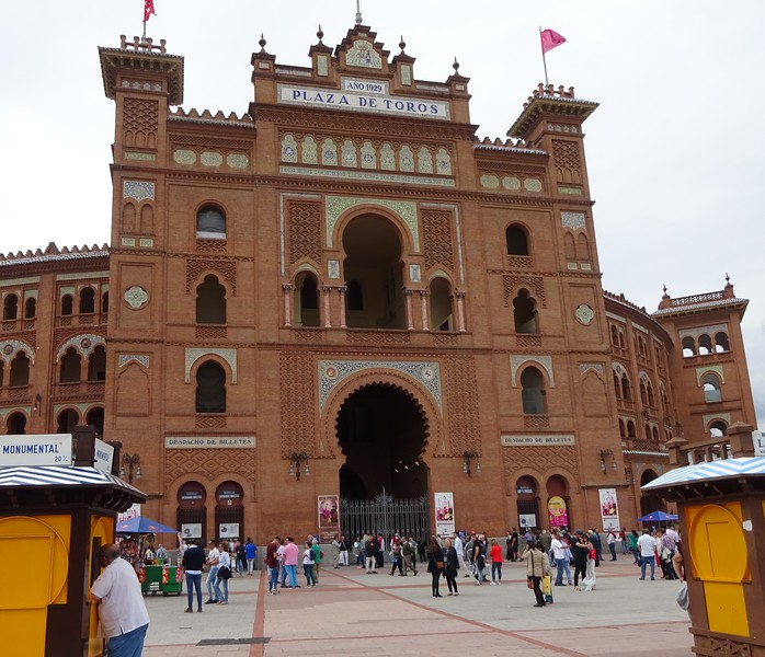 We take in a bullfight.  Controversial, but an important part of Spanish culture.