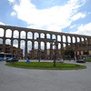 Segovia is known for its well preserved Roman aqueduct.  Built in the 2nd Century.
