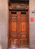Residents in rich old Madrid declared their wealth by elaborate doors to their residences.