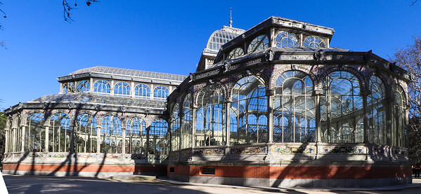 Crystal Palace, Madrid.