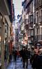Narrow streets of Toledo, Spain.