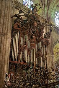 Seville cathedral organ.