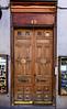 Another fancy door in old town Madrid, Spain.