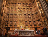 The Seville cathedral altar piece is 66 feet by 90 feet and was the life's work of one artist.