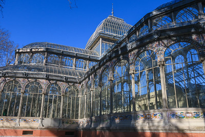 The Crystal Palace, Madrid, Spain.