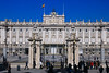Front of the King's Palace, Madrid.