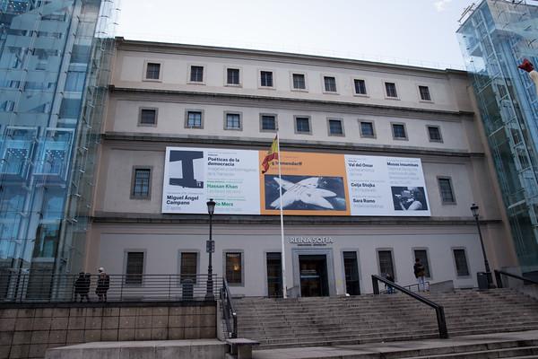 Mardid Monday afternoon, Centro de Arte Reina Sofia