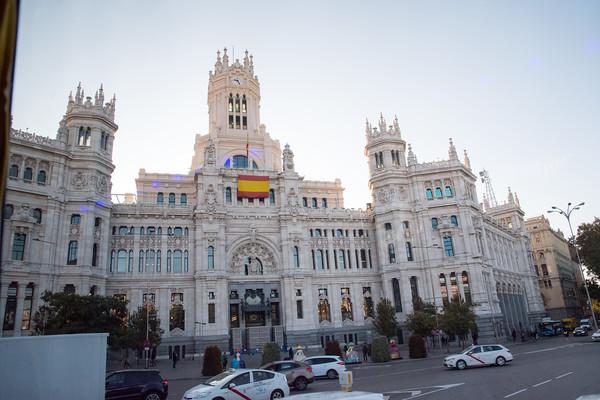 Madrid Monday morning